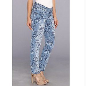 Seven7 floral skinny jeans